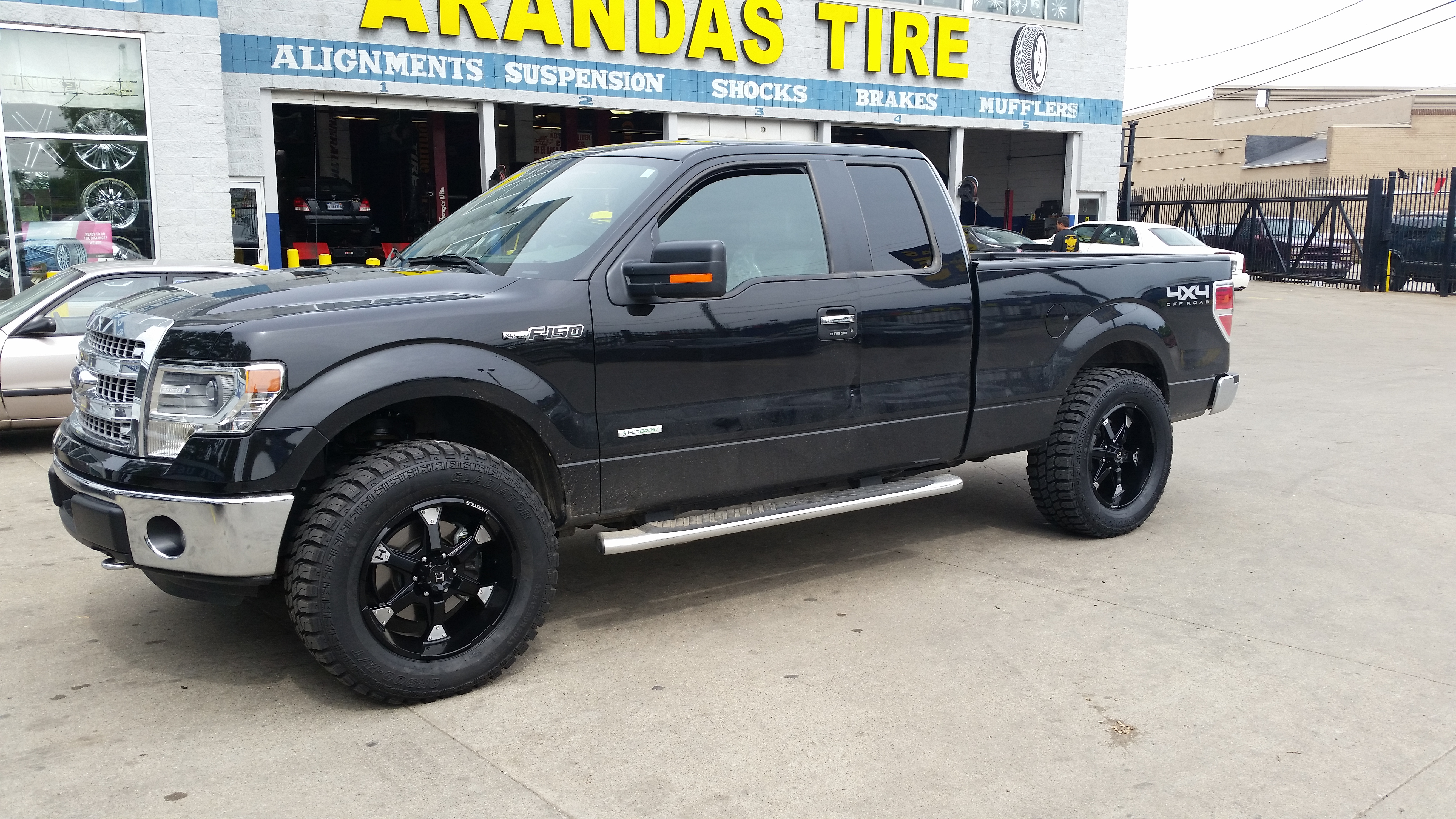 truck ford landscape of sale for dump picture trucks beautiful